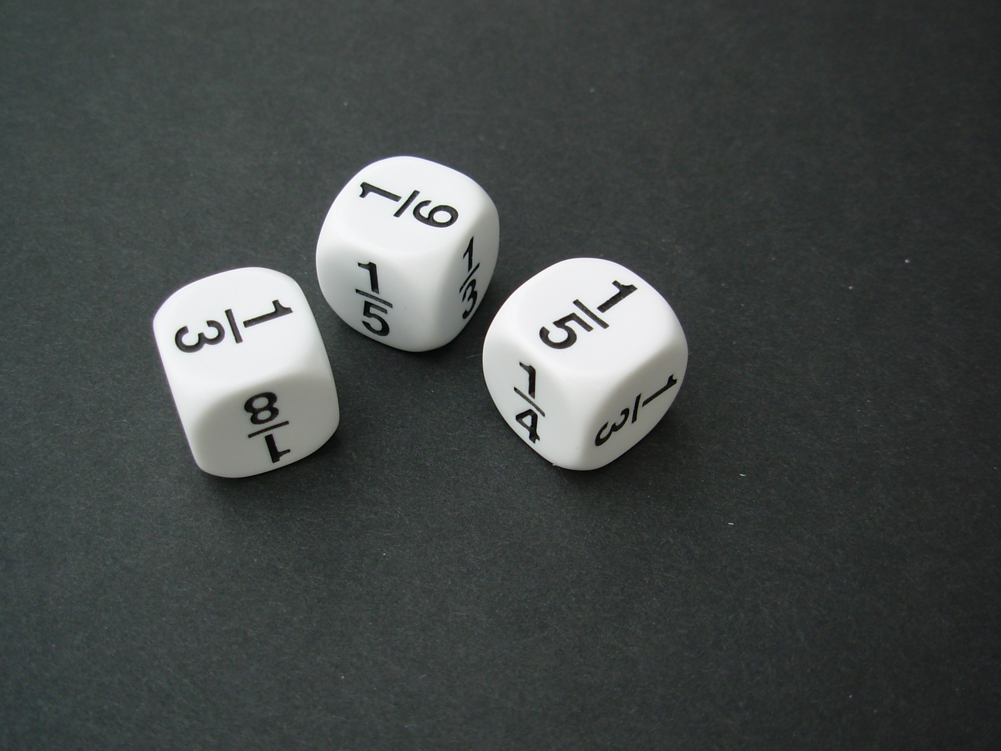 Dice - fraction-0