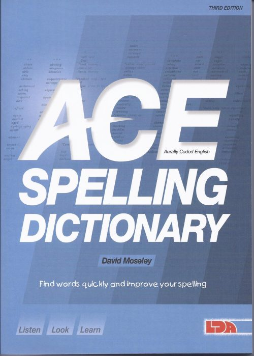 ACE Spelling Dictionary-0