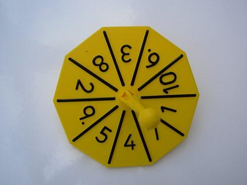 Number spinner-0