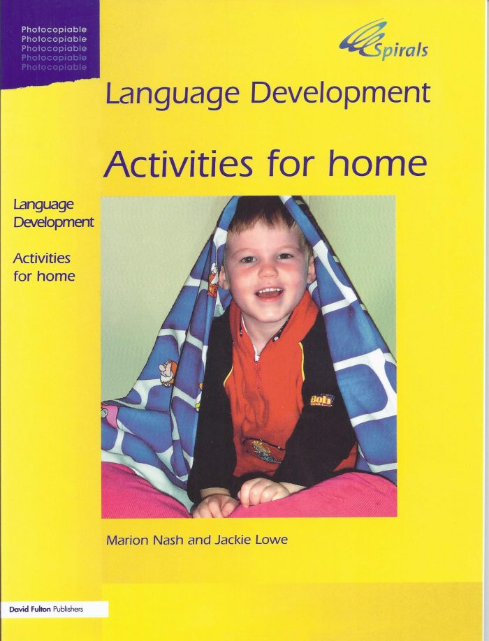 Language Development Activities for home by Marion Nash & Jackie-0