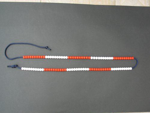 Beads 1-100 string.-0