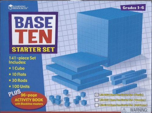 Base Ten Blocks Starter Set-0