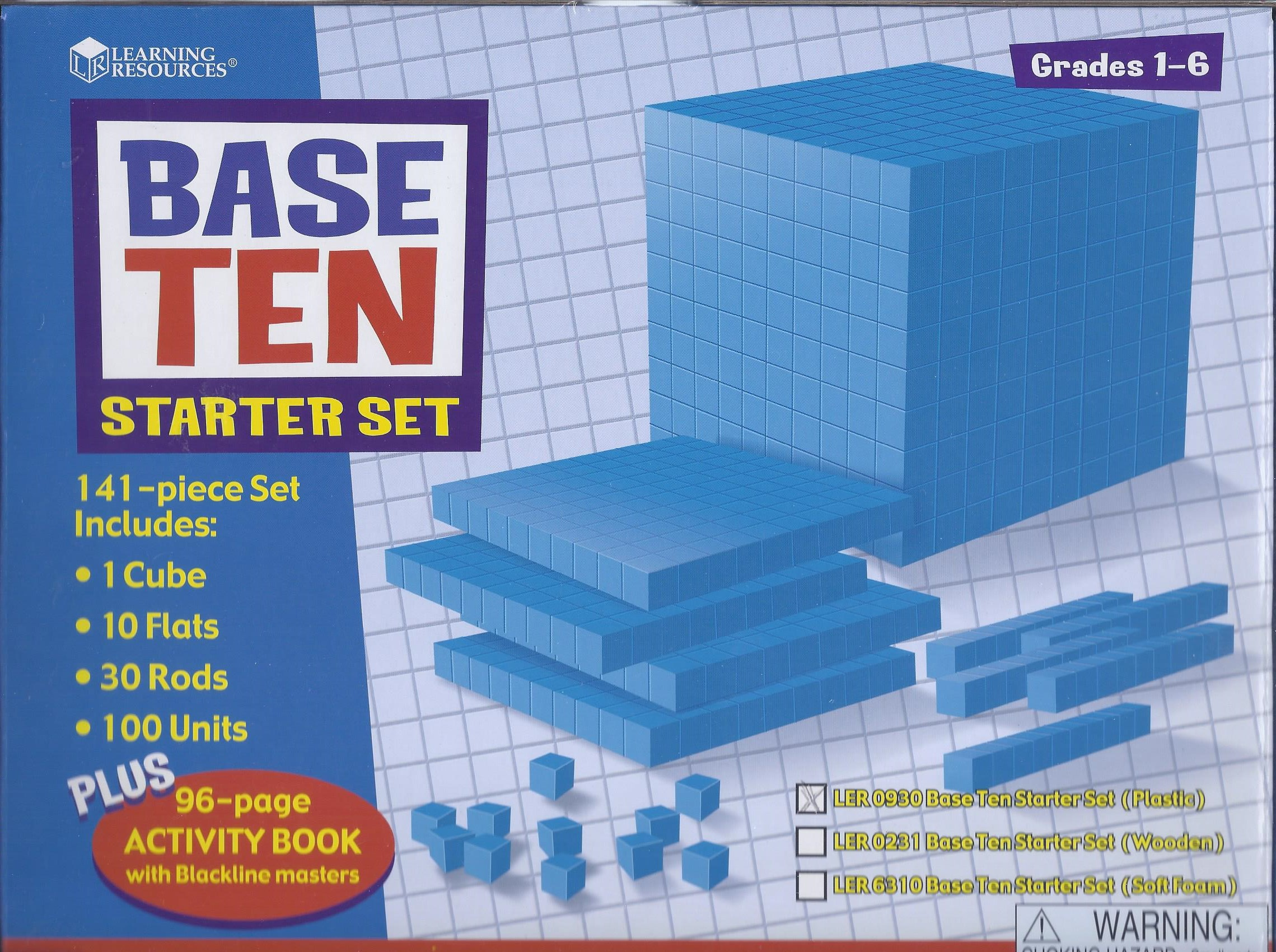Base Ten Blocks Starter Set-0