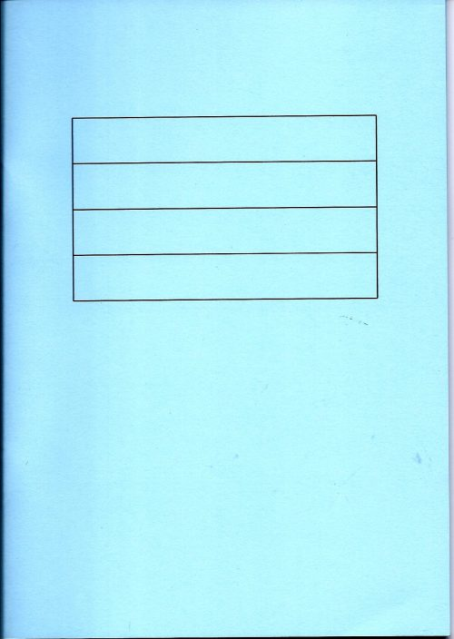 Blue writing book-0