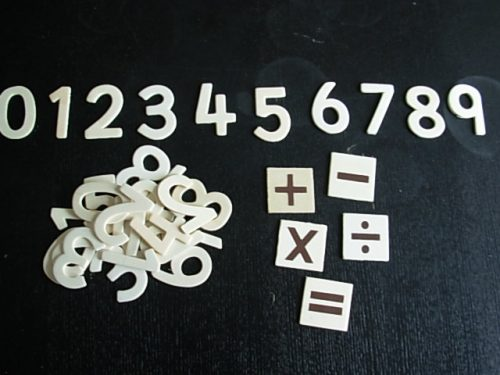 Wooden Numbers-0