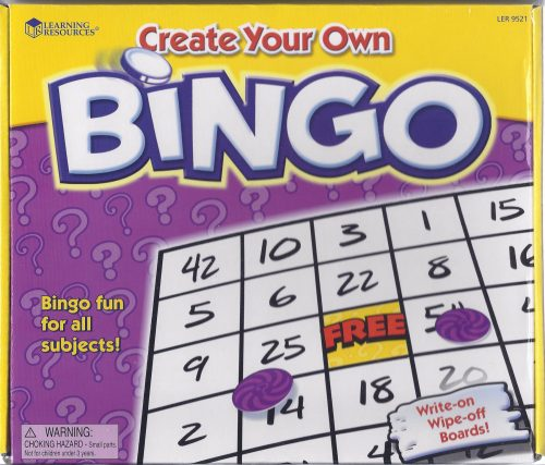 Create your own Bingo-0