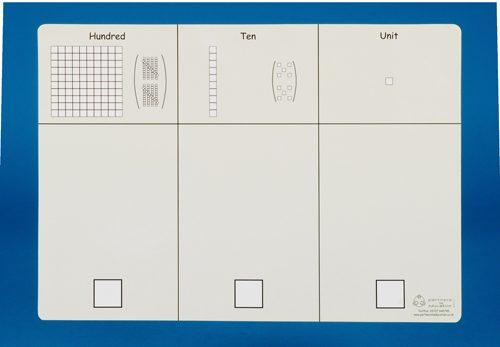 Base ten place value board-0