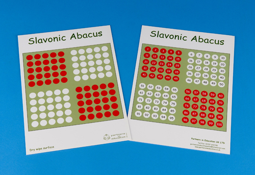 Slavonic Abacus card-35