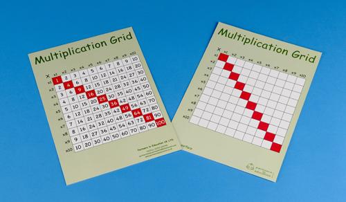 Multiplication Square grid-0