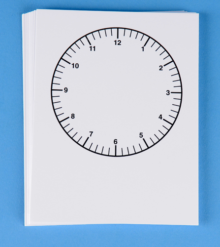 Blank Clock Faces (class set)-0