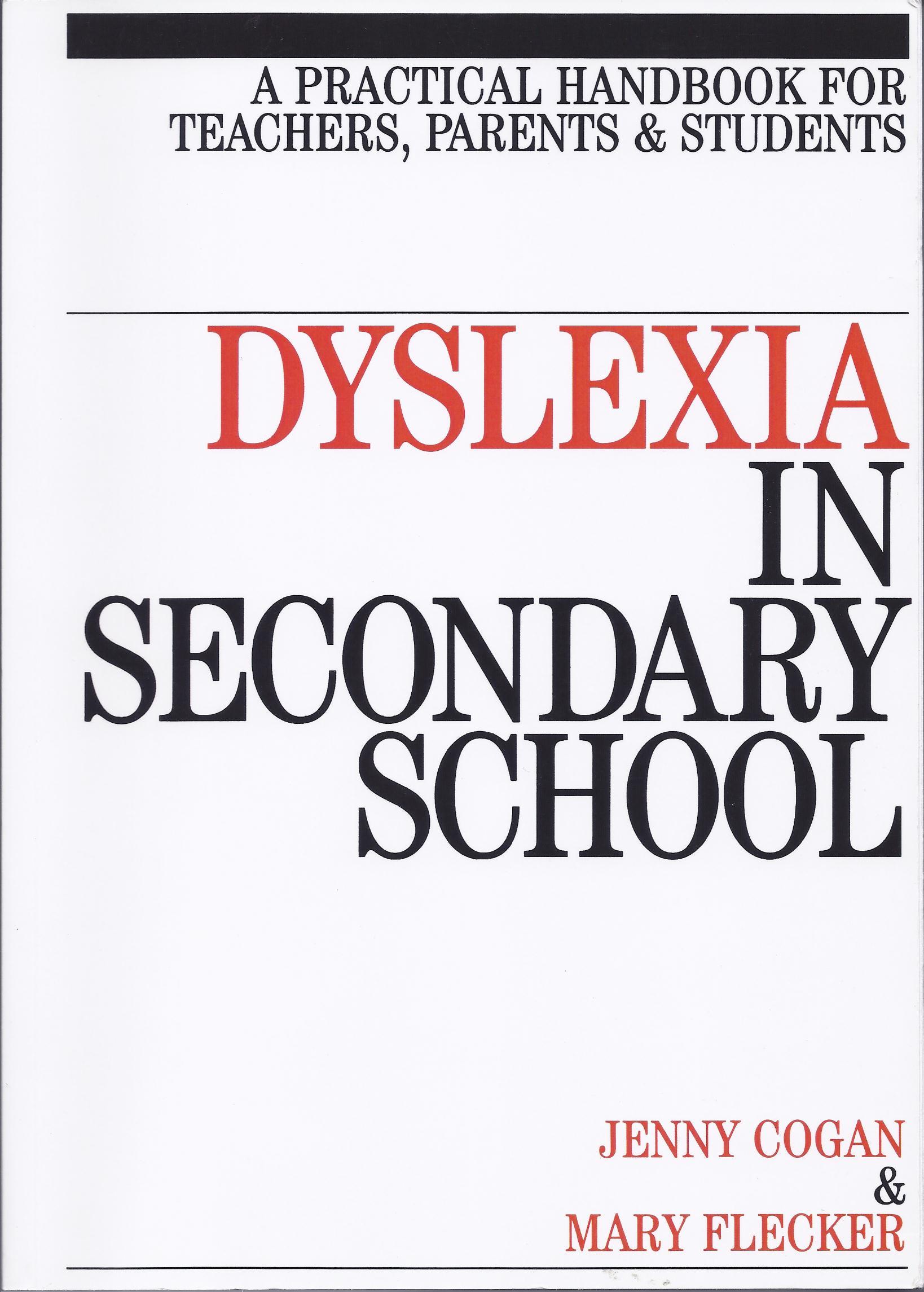 Dyslexia in Secondary School-0