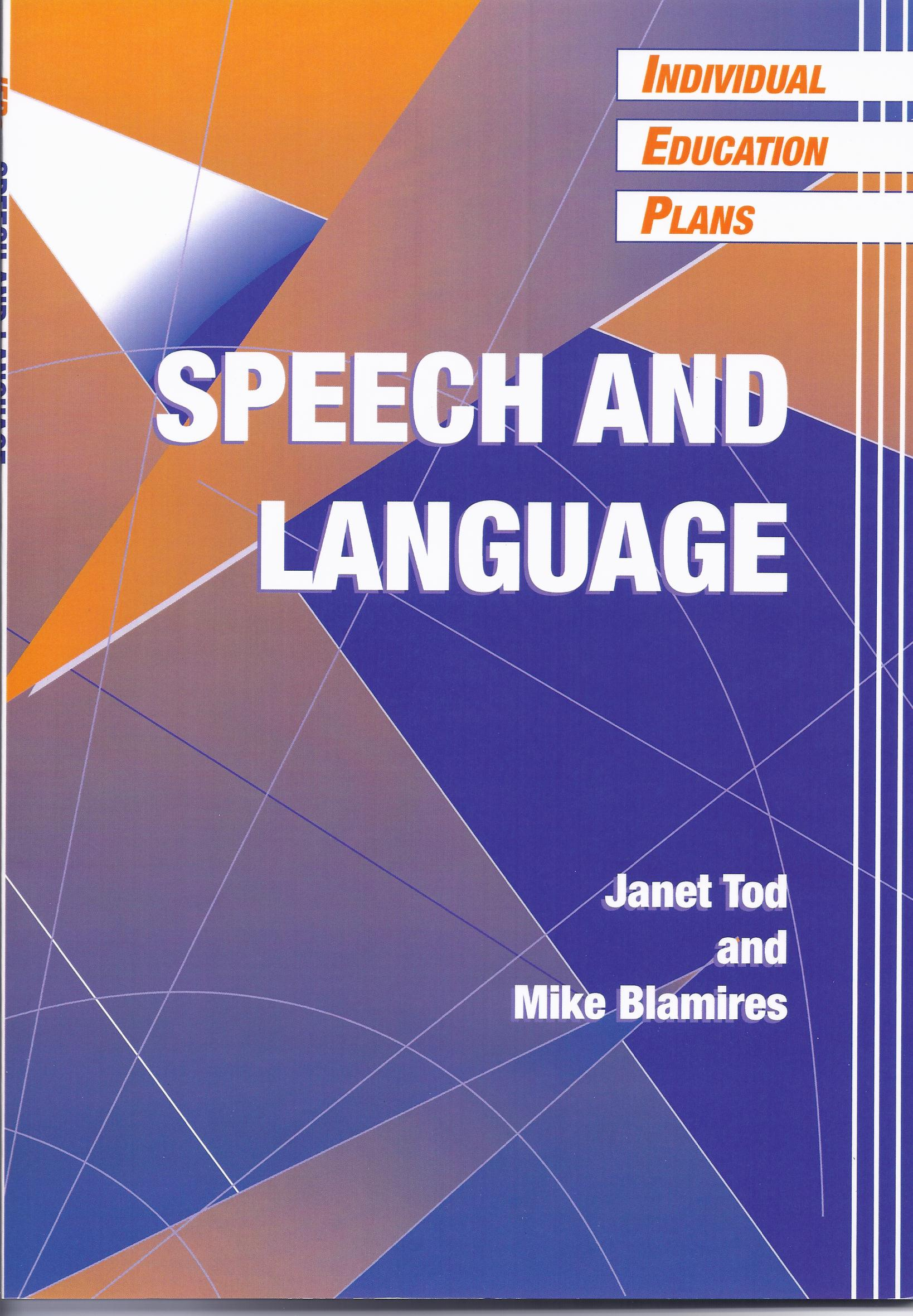 Speech and Language by Janet Tod and Mike Blamires-0