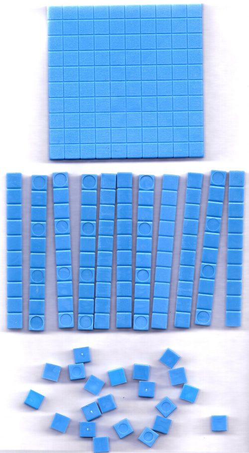 Base ten blocks - individual set-0