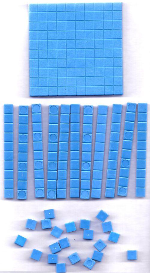 Base ten blocks - individual set-0