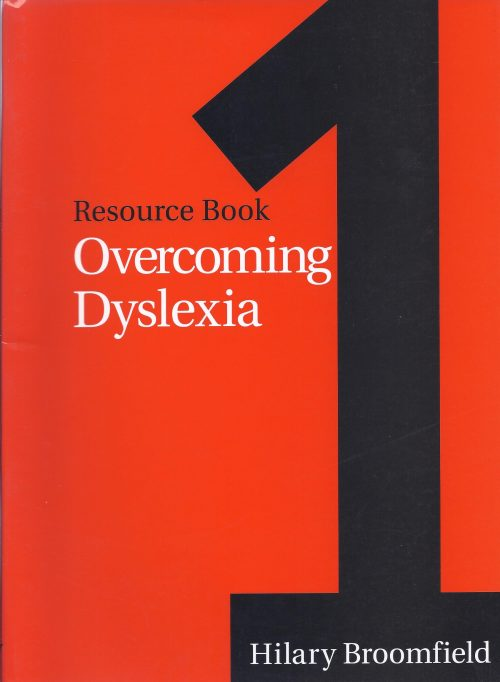 Overcoming Dyslexia - Resource Book 1-0