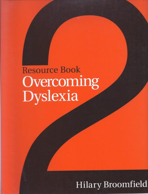 Overcoming Dyslexia - Resource Book 2-0