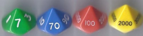Dice - place value-0