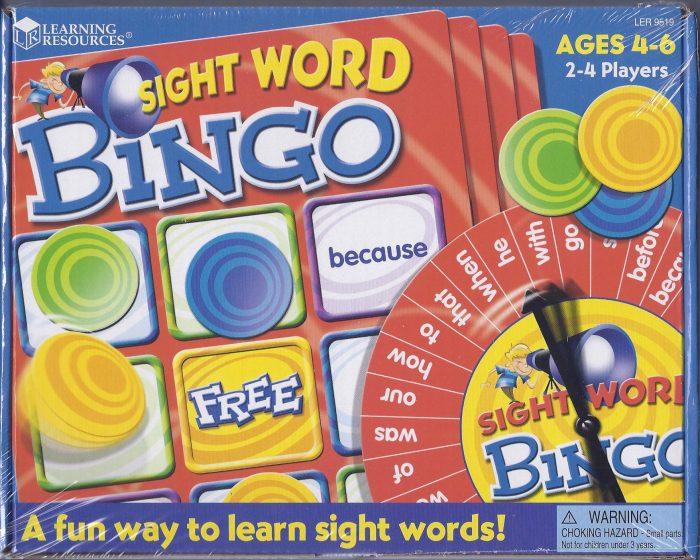 Sight Word Bingo-0