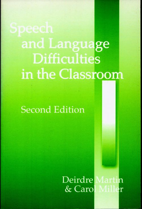 Speech and Language difficulties in the classroom-0