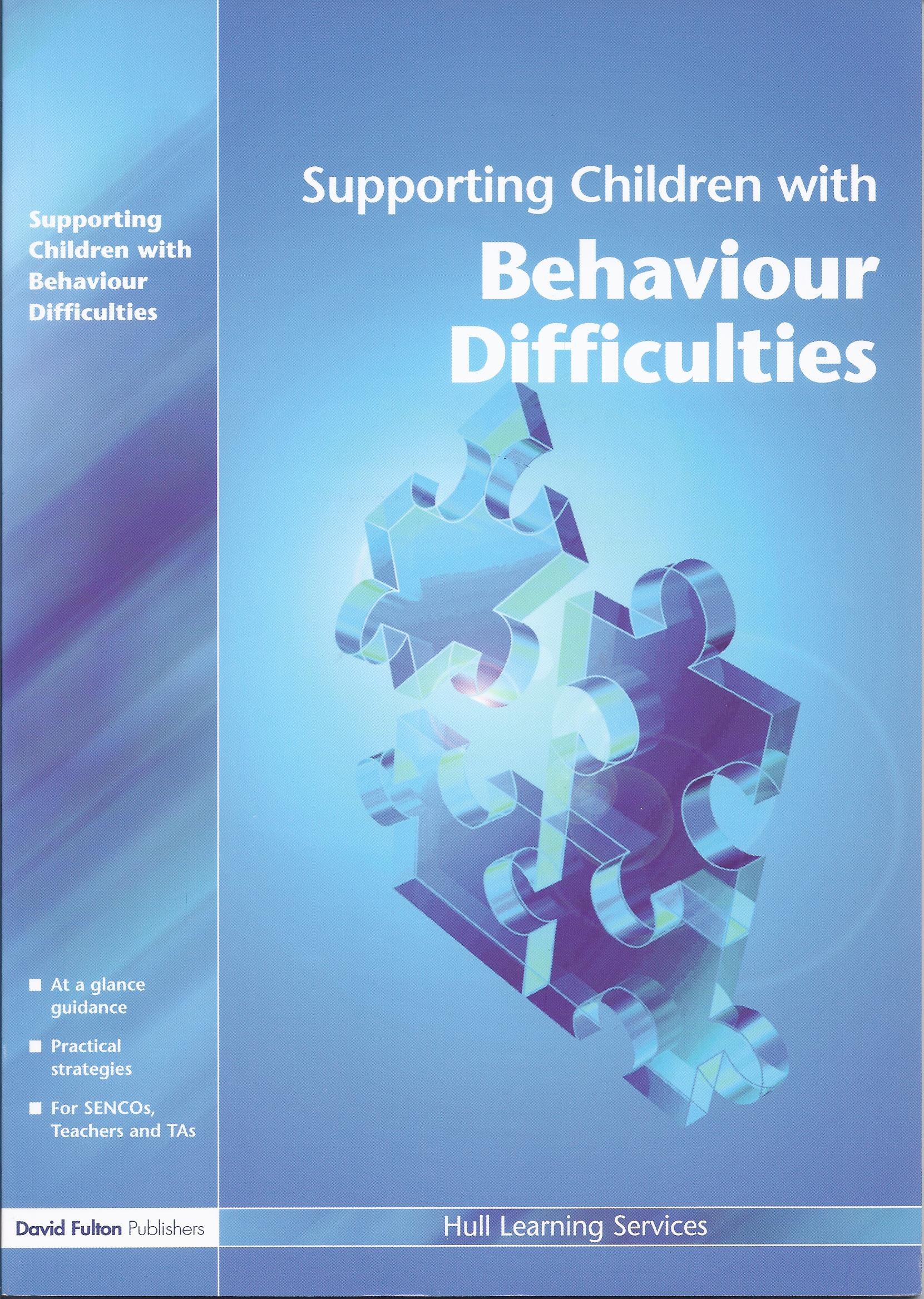 Supporting Children with Behaviour Difficulties-0