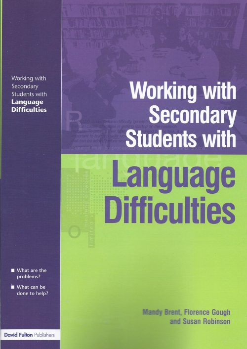 Working with Secondary Students with Language Difficulties-0