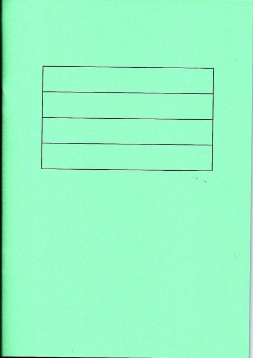 Green writing book-0