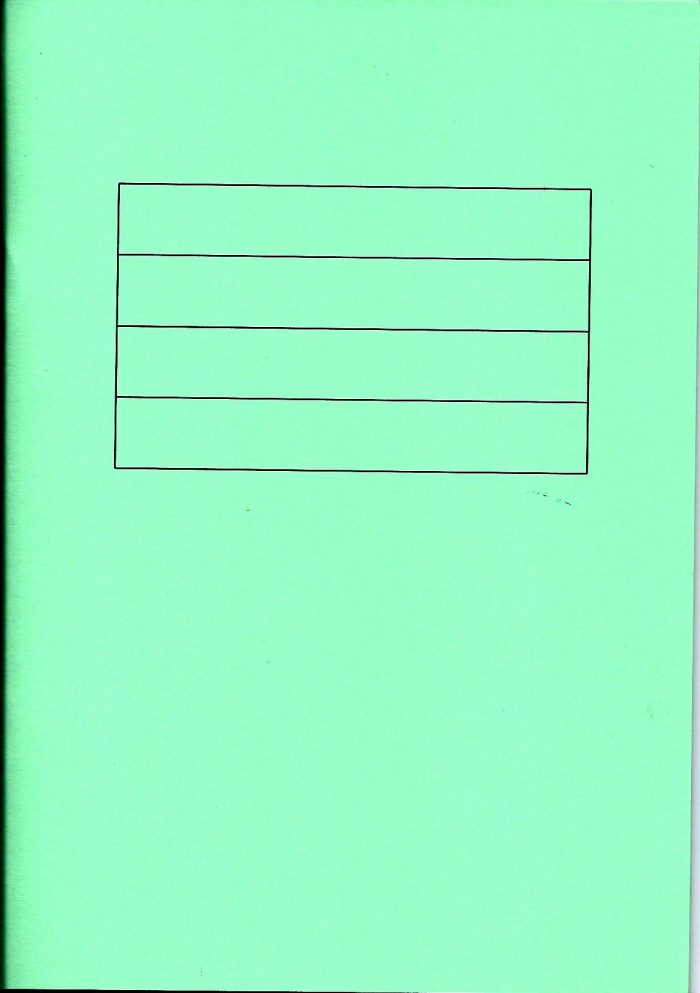 Green writing book-0