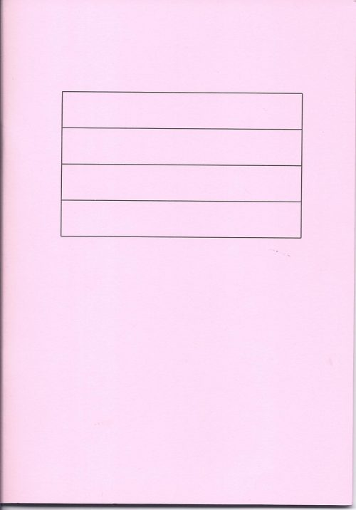 Pink Writing Book-0