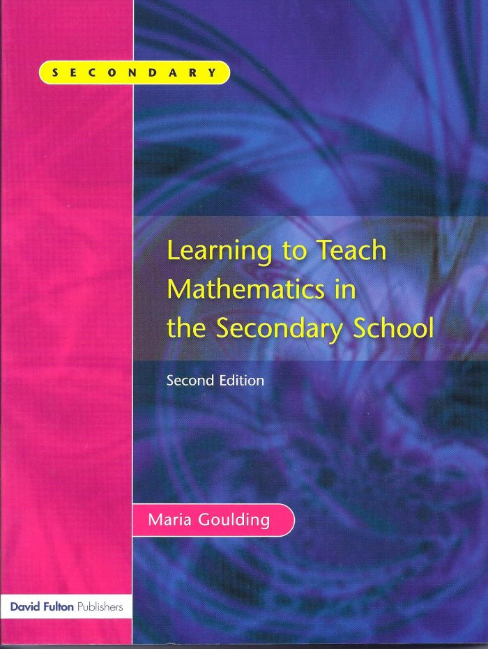 Learning to Teach Mathematics in the Secondary School-0