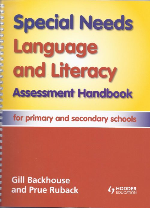 Special Needs Language and Literacy Assessment Handbook-0
