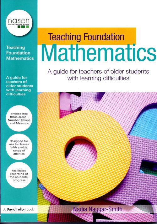 Teaching Foundation Maths- A Guide for teachers of older students with learning difficulties.-0