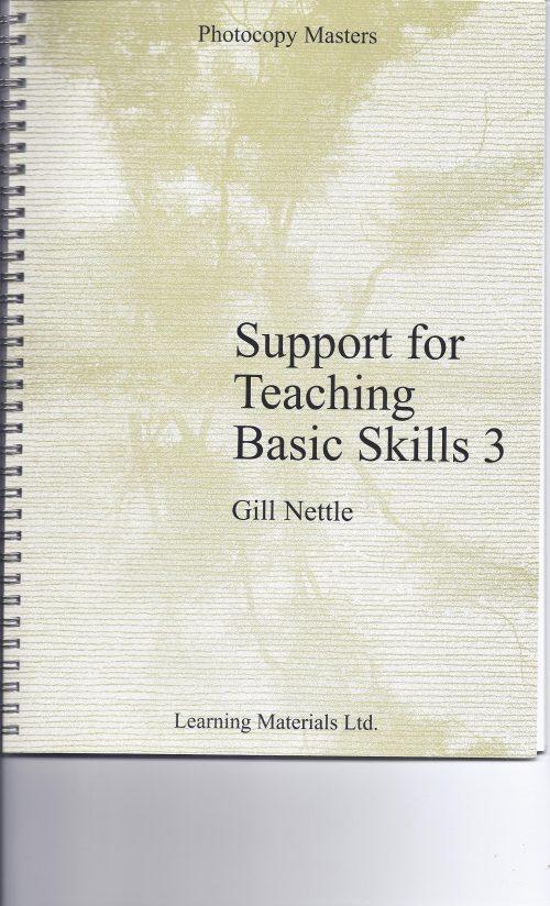 Support for Teaching Basic Skills 3-0