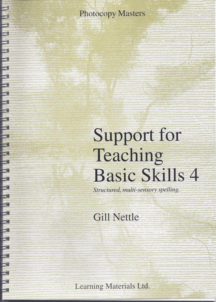 Support for Teaching Basic Skills 4-0