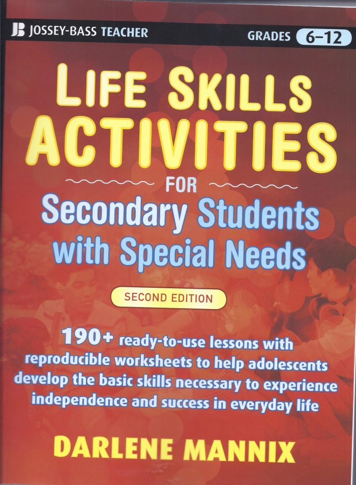 Life Skills Activities for Secondary Students with Special Needs-0