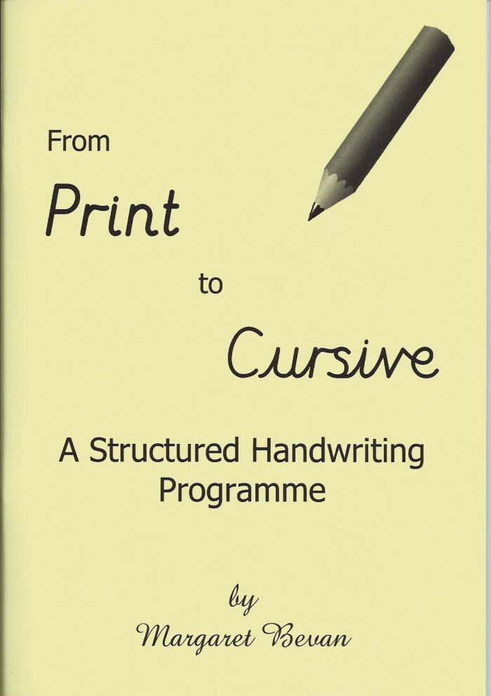From Print to Cursive -0