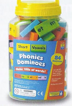 Phonic Dominoes Short Vowels-0