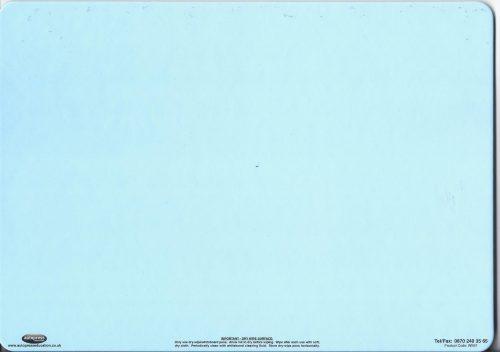 Blue dry wipe board-0