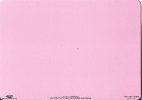 Pink dry wipe board-0