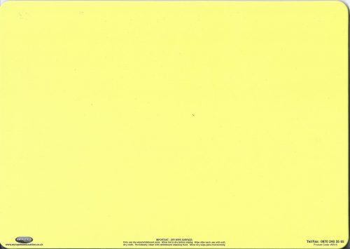 Yellow dry wipe board-0