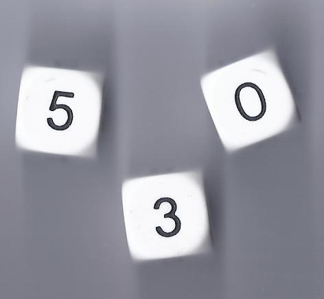 Dice 0-5-0