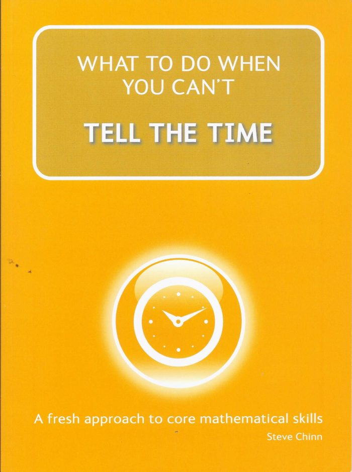 What to do when you can't TELL THE TIME -0