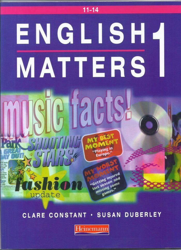 English Matters 1-0