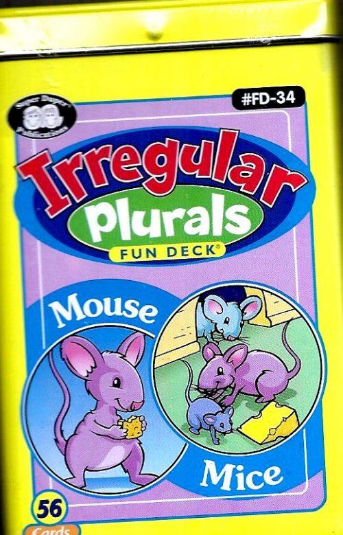 Irregular Plurals Fun Deck-0