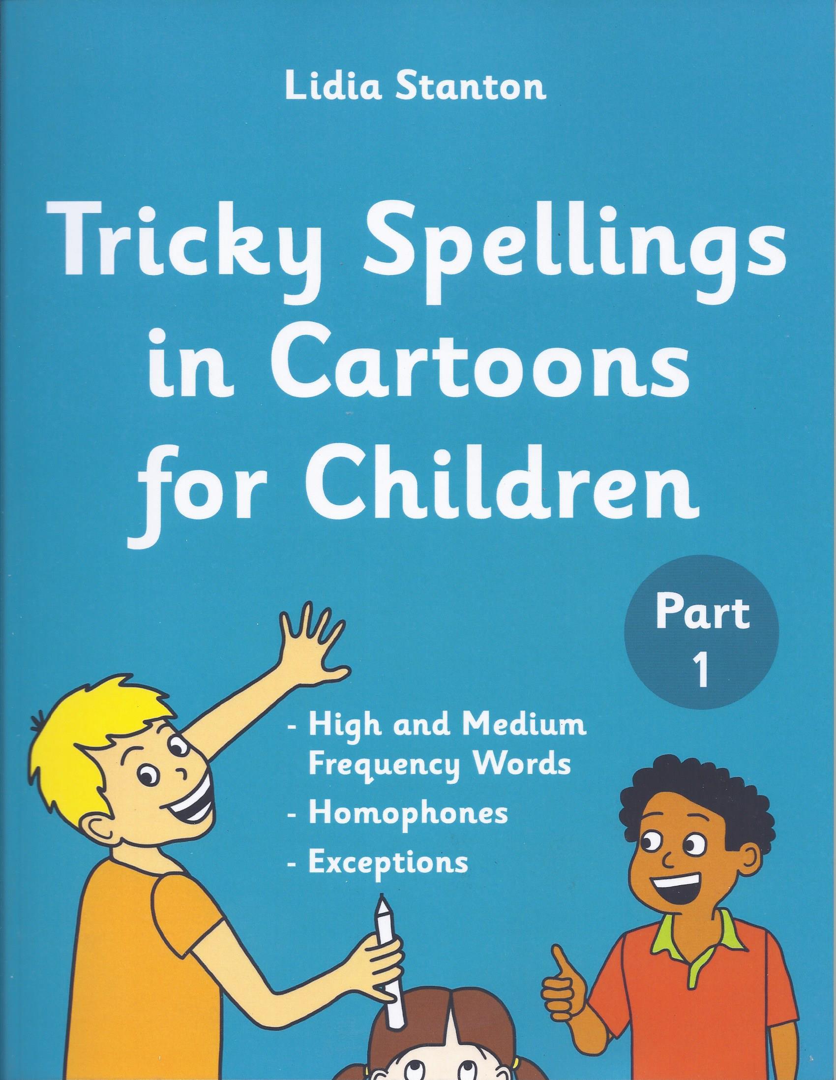 Tricky Spellings In Cartoons for Children Part 1-0