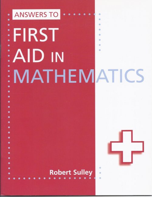 First Aid in Mathematics Answers-0