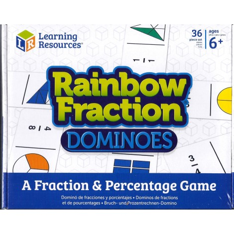 Rainbow Fraction Dominoes-0