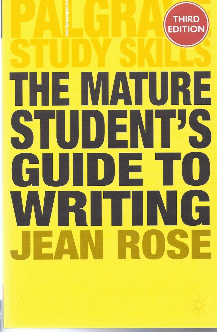 The Mature Student's Guide to Writing-0