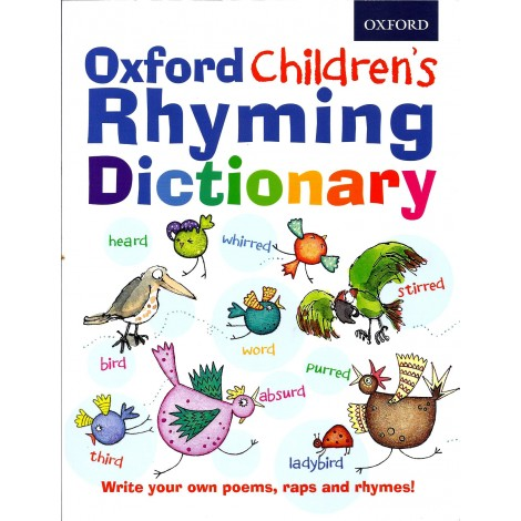Oxford Children's Rhyming DIctionary-0