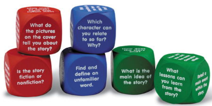 Reading Comprehension Cubes-0