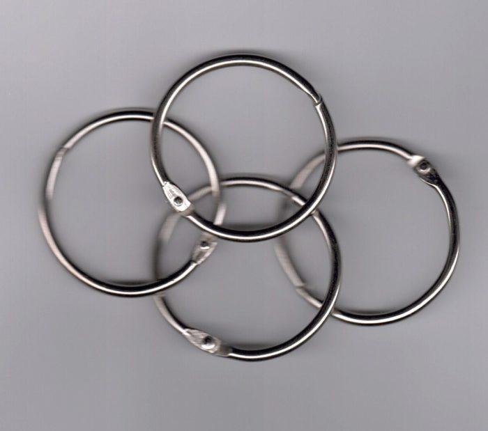 small metal rings